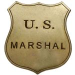 Classic US Marshal Badge